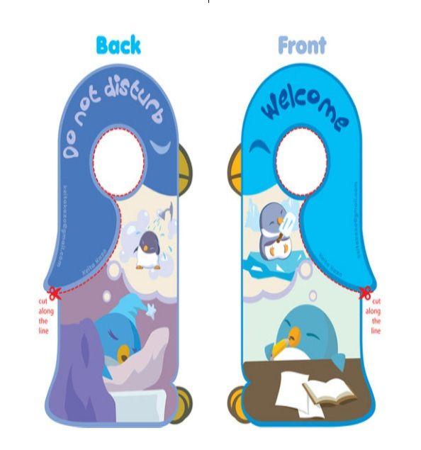 Door Hanger Template 02