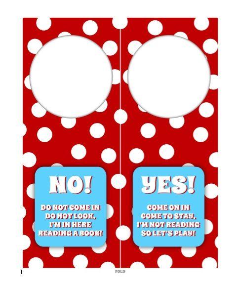 Door Hanger Template 07