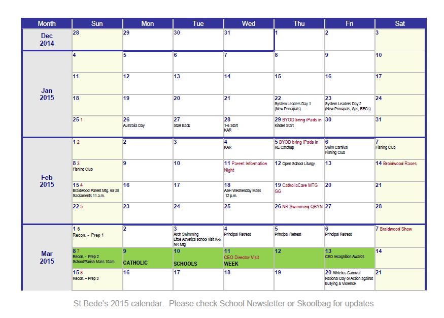 weekly calendar template 22