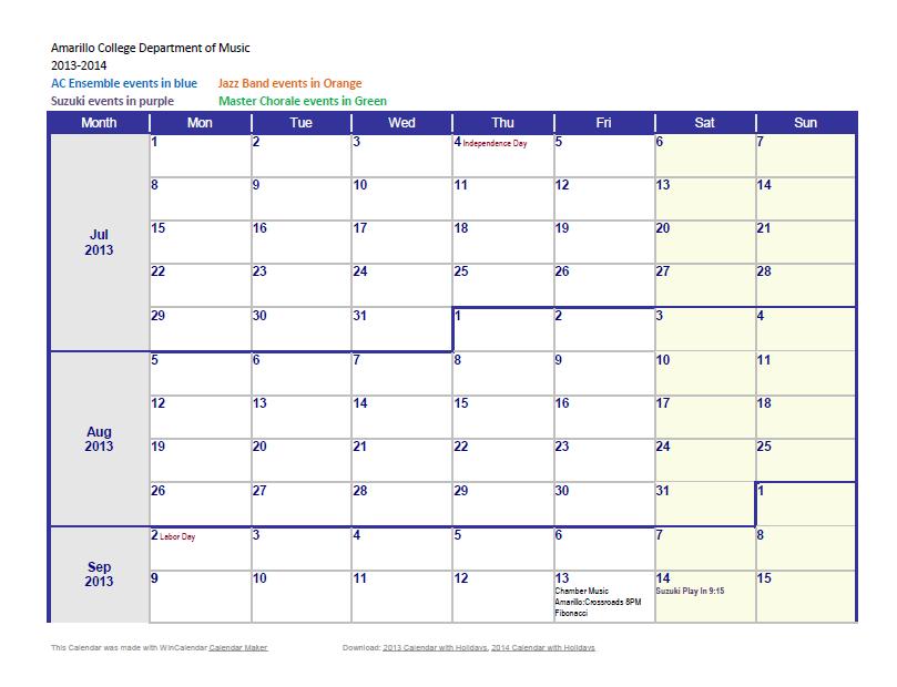 weekly calendar template 24