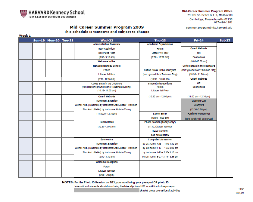 weekly calendar template 25