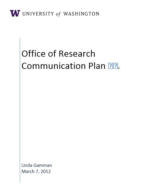 Communication Plan Template 004