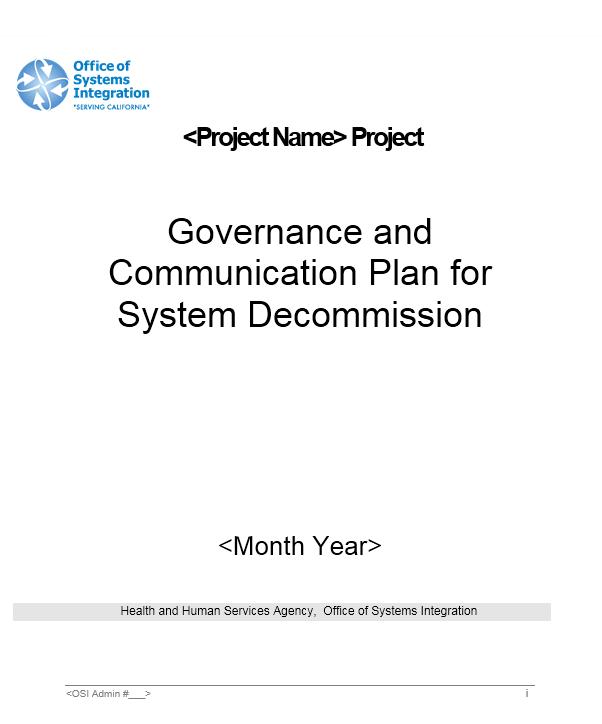 Communication Plan Template 009