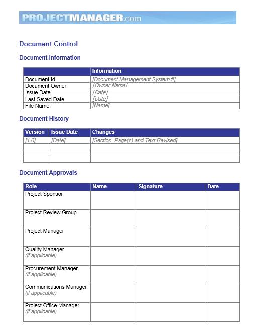 Communication Plan Template 015