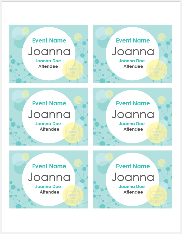 name tag template 005