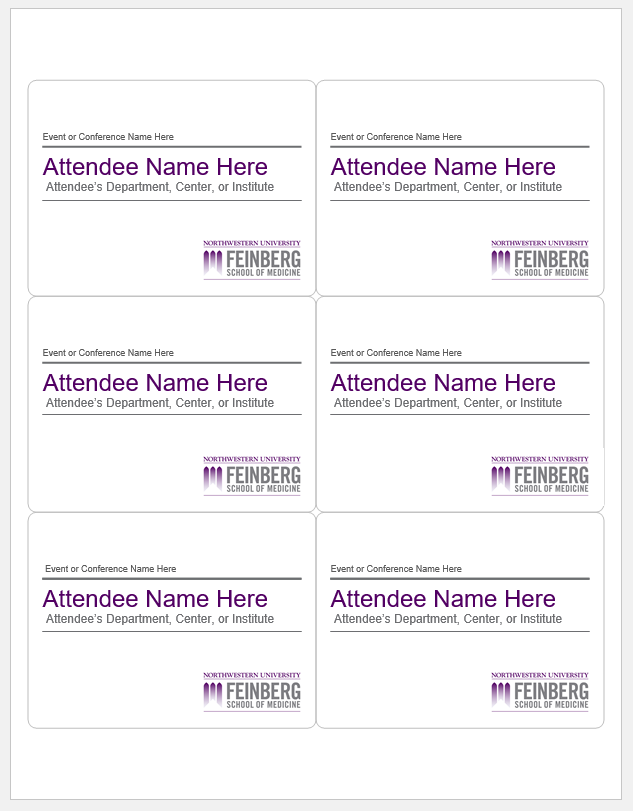 name tag template 020