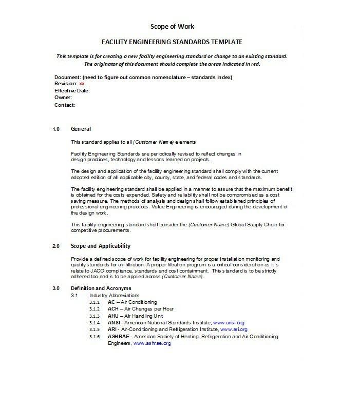Scope of work template 001
