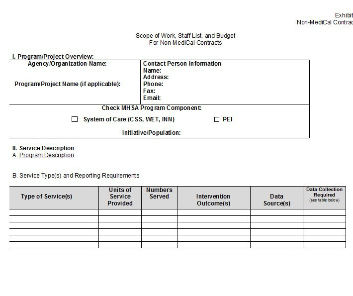 Scope of work template 002
